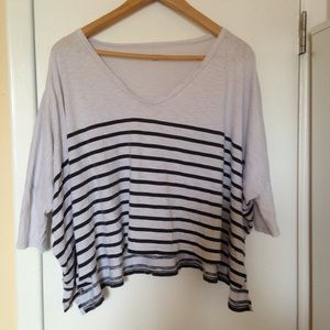 Express Striped Pullover